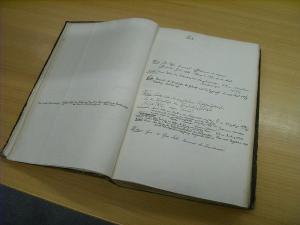 Registers book